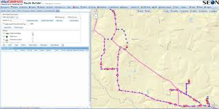 Fedex Route Map by Bus Routing Software Seon