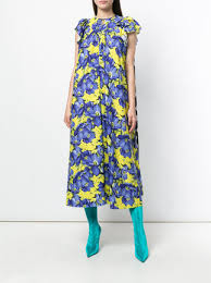 print dress 2 195 balenciaga floral print dress buy online fast delivery