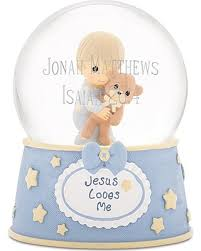 baptism snow globes deals on precious moments baby boy musical snow globe