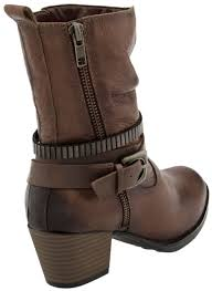womens brown motorcycle boots earth spruce women u0027s heeled comfort boot free shipping