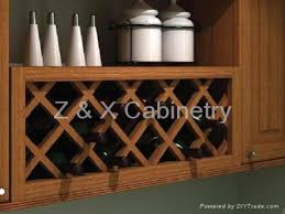 kitchen cabinets wine rack monsterlune