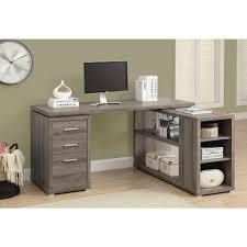 Oak Corner Desk With Hutch Home Styles The Orleans 3 Piece Vintage Caramel Office Suite 5061