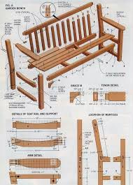 Wood Plans Outdoor Furniture by Best 25 Garden Bench Plans Ideas On Pinterest Wooden Bench