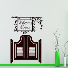 Welcome Baby Home Decorations Creative Graffiti Quote Decals Zooyoo8393 Children Decals Kids