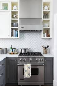 what color backsplash with gray cabinets 48 beautiful kitchen backsplash ideas for every style