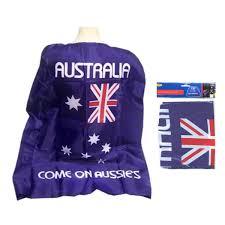 Aussie Flag Aussie Australian Flag Cape Wrap Australia Day Costume Fancy Dress