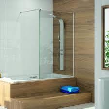 parete fissa doccia expertbath it walk in p101 parete fissa su misura per doccia e vasca