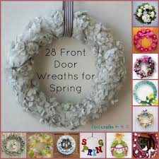 how to make a spring wreath for front door home design