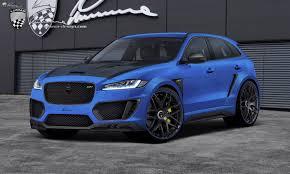 official lumma clr f jaguar f pace gtspirit
