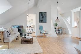 Swedish Style Rugs Apartments Cozy Elegance Living Room Minimalism Apartment With