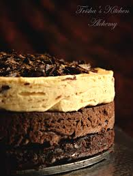 chocolate u0026 vanilla cranberry mousse cake u2013 trisha u0027s kitchen alchemy