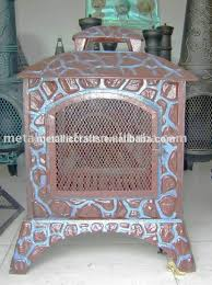 Metal Chiminea Lowes by Cast Iron Wood Burning Chiminea Cast Iron Wood Burning Chiminea