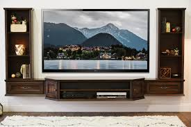 wall mount tv stand with shelf transitional wall mount floating tv stand entertainment center