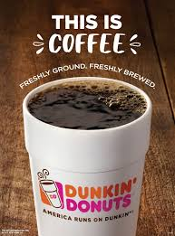 Coffee Dunkin Donut sip peel win dunkin donuts coffee drinkers are winners with new