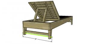 Wood Lounge Chair Plans Free by Free Woodworking Plans To Build A Potterybarn Inspired Chesapeake