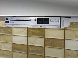 under cabinet kitchen radios decorating under cabinet kitchen radio elegant lovely cd player