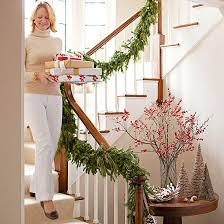 Sliding Down Banister 12 Beautiful Christmas Banisters