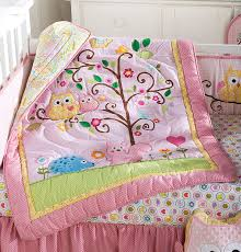 Lambs And Ivy Mini Crib Bedding by Amazon Com Kids Line Dena Happi Tree 6 Piece Crib Set Pink