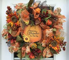 shop deco mesh wreaths for fall on wanelo wreaths