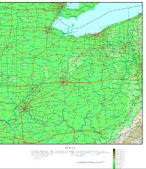 Southern Ohio Map by Ohio Map Online Maps Of Ohio State