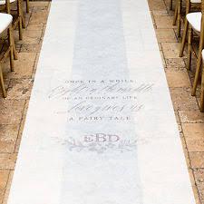 personalized wedding aisle runner personalized aisle runner ebay