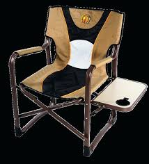 outdoor chair with table attached with tables attached cing chairs with side tray folding lawn