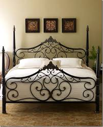 guinevere bed from horchow heavy gauge steel in a beautifully