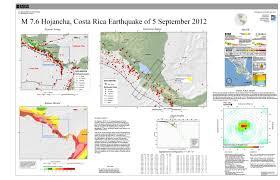 Usgs Earthquake Map California M 7 6 Costa Rica