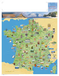 France On A Map by Tourisme En France Civilisation Pinterest