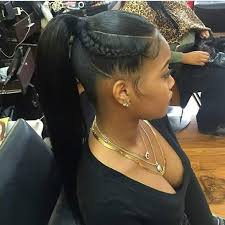 hair pony tail for african hair fly ponytail because sometimes simplicity speaks volumes black