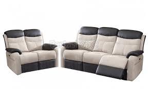 canap relaxation electrique ensemble canapé 3 2 en microfibre avec relax électrique coloris