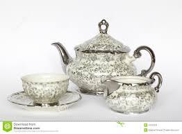 porcelain tea set royalty free stock photo image 13735325