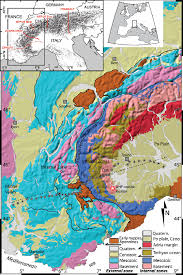Swiss Alps Map Location Of The Seismic Array On A Geological Map Of The Western