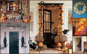 front porch halloween decoration ideas allstateloghomes com