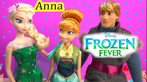 frozen fever princess anna queen elsa birthday party doll from new