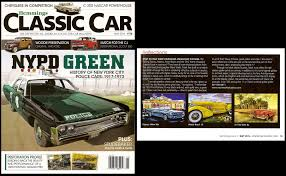 Hemmings Classic Car - press art shows magazine articles on mark watts art