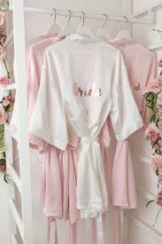 dressing gown bridesmaid foil wedding dressing gown the boutique co