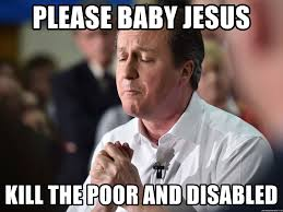 Poor Baby Meme - please baby jesus kill the poor and disabled dave the dick meme