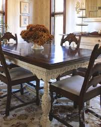 how to update an old dining room set painted dining table finally