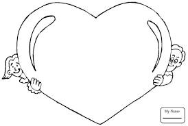 valentine how to draw heart and ice cream coloring pages for