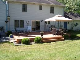 exterior exterior backyard deck design simple wooden backyard