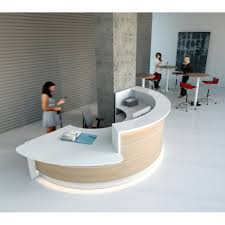Rounded Reception Desk Valde Countertop Rounded Reception Desk Mdd Office Furniture