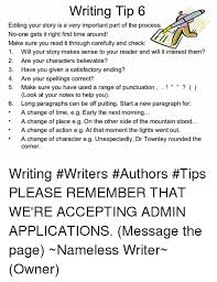Your Story Meme - writing tip 6 editing your story is a very important part of the