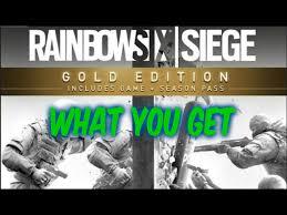 Buy Rainbow Six Siege Gold Rainbow Six Siege Gold Edition Season Pass What Do You Get