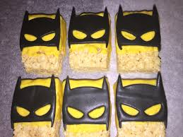 batman rice krispie treats tnt cookie pops pretzels strawberries