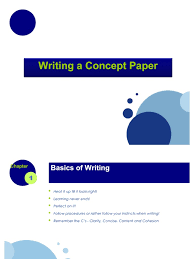 writing a strategy paper concept paper business plan strategic management