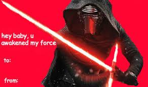Star Wars Valentine Meme - mine photo star wars tfa i don t give a shit valentine meme the