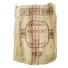 recycled burlap sacks printed 26 x 40 6632 craftoutlet