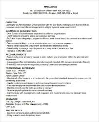 Example Of Special Skills In Resume by 26 Professional Administrative Resume Templates Free U0026 Premium