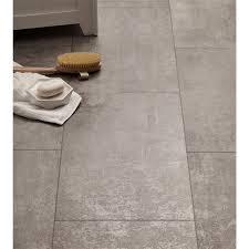 laminae concrete tile effect laminate flooring at homebase co uk